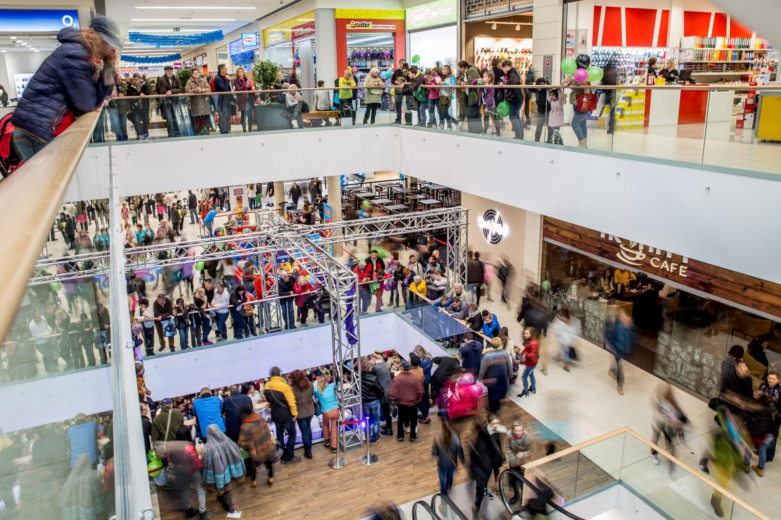 Grand opening of Forum Poprad shopping center  3955e03dd6f