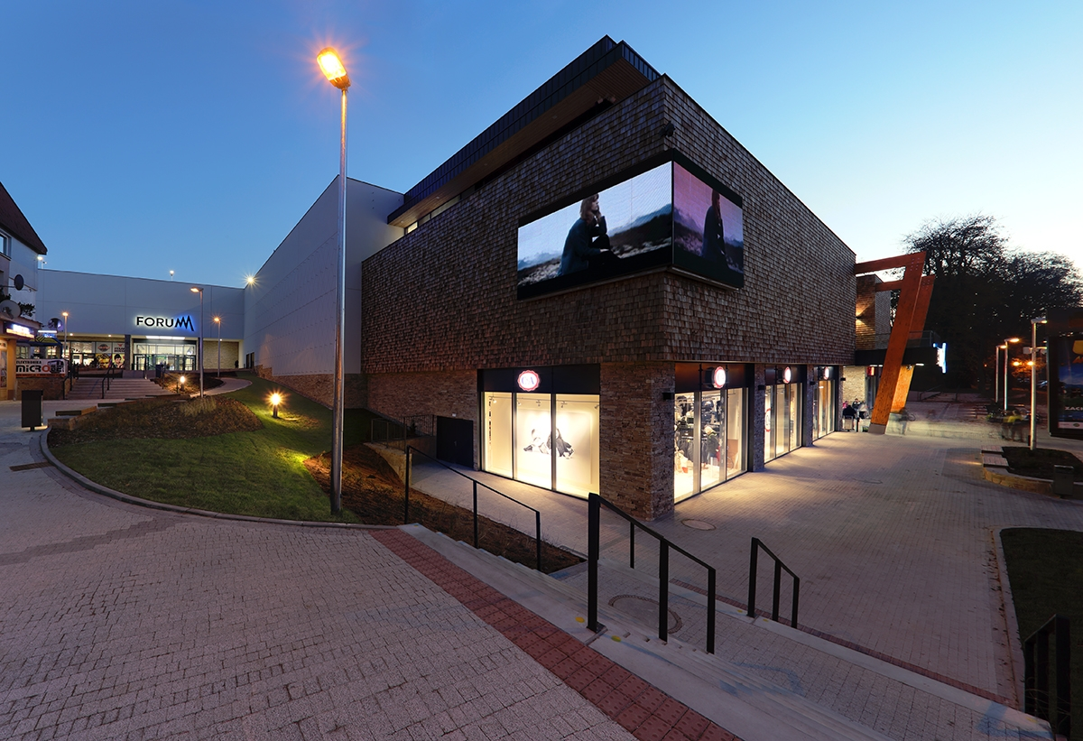 FORUM Poprad Shopping Centre wins prestigious European award  64c5c769702
