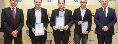 Construction of the year 2016 in Olomouc Region